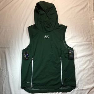 Nike NY Jets Fly Rush Performance Hooded Vest